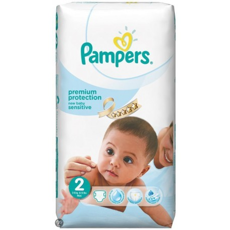 60 couches pampers new baby sensitive taille 2 petit prix sur le roi de la couche - Couche pampers new baby taille 2 ...